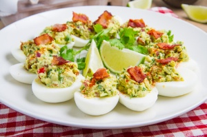 Bacon Avocado Deviled Eggs 500 7167