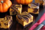 GF Pumpkin Cheesecake Brownies - 14